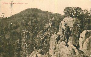 Ash Fork Arizona William Mountain Harvey 1907 Postcard 21-10412