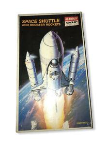 Academy Minicraft Space Shuttle And Booster Rockets Model Kit