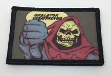 Skeletor Masters Of The Universe Morale Patch Army Military Tactical flag USA