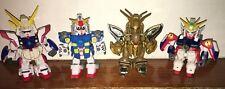 Bandai 2003 Gundam SD Force 4 Robot Figure Lot
