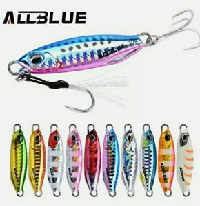 Artificiale Spinning Metal Jig Allblue, New Drager 15/20/30/40 Gr