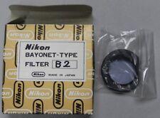 Nikon Bayonet-Type B2 Filter ....... NEW