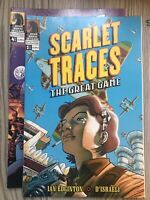 SCARLET TRACES THE GREAT GAME #1 & #4 DARK HORSE COMICS FIRST PRINT