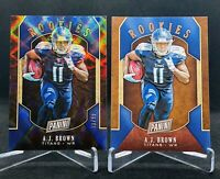 A.J. Brown  2019 Panini Black Friday Rookies RC Holo Refractor /99 Lot Titans