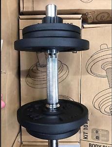 dumbbells 8Kg used