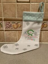Snowman & The Snowdog - Baby's 1st Christmas Stocking.