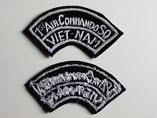 b8406 US Air Force Vietnam 1st Air Commando Squadron For Bush Hat IR20C