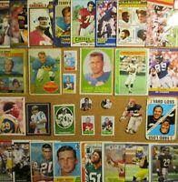 1958/60's/70s+ NFL Lot**Brady/Tarkenton/Robustelli/Watson/Dickerson/Blanda/Kemp+