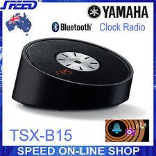 Yamaha TSX-B15 Bluetooth & Clock Radio Speaker – BLACK