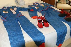 Sparco Race Suit and Shoes