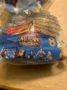 1998 Disney's Mulan Chien-Po Ling and Ya #8 NIP Sealed McDonalds Happy Meal Toy
