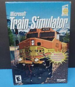 Microsoft Train Simulator 1.0 for PC - New in Box
