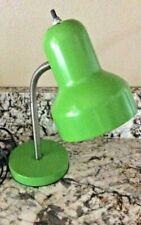 Neon Green Metal Desk Lamp Adjustable Goose Neck Table Lamp Study Desk