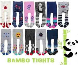 Baby BOYS GIRLS BAMBOO Tights Leg Warmers 0-6 6-12 12-18 18-24 Months Pants NEW