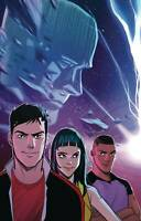 Go Go Power Rangers #31 Cvr A Connecting (2020 Boom! Studios) Carlini Cover