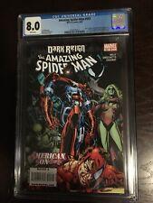 Marvel Comics AMAZING SPIDER-MAN 597 CGC Grade 8.0 (08/09)