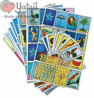 Jumbo Authentic Mexican Loteria Bingo Chalupa Game 10 Boards + 1 Deck 54 Cards
