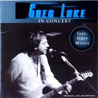 GREG LAKE In Concert 1981 feat G.Moore (King Biscuit Flower Hour) CD RARO IMPORT