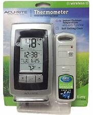 Acurite Digital Weather Thermometer Home Indoor Outdoor Wireless Station 00754w4