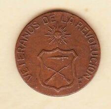 Philippine 1896-1904 Aguinaldo Revolution Veteranos Medal RED Bronze very Scarce