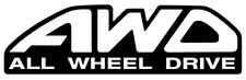 Subaru AWD All Wheel Drive Decal JDM Decal for Car, Windows, WRX, STI, Outdoors!