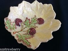 VTG  Brentleigh Ware Staffordshire England Beech bowl raspberry leaf pattern