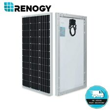 Renogy 80W Watt Monocrystalline Solar Panel 12V Volt Off Grid Power RV Home Boat
