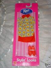 Ken Doll Stylin' Looks #68040-96 1998 Barbie NRFB Mattel