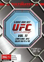 UFC Ultimate Collection Vol 11 (DVD, 5-Disc Set) UFC 88 to UFC 92 NEW/SEALED