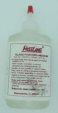 Fusing Powder Binder Burns Off Cleanly GLASS PAINTERS MEDIUM HotLine 4oz Supply