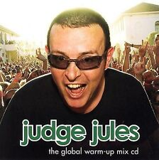 JUDGE JULES - THE GLOBAL WARM UP MIX CD - NEW CD