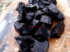 Natural BLACK JASPER - 1000 Carats - Rough Lapidary Stones - Rare and Different