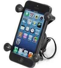RAP-274-1-UN7U Ram Mounts EZ-ON/OFF Bike Mount w/ Universal X-Grip Phone Holder