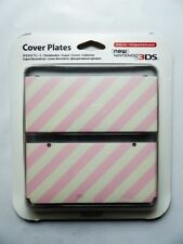 ★ COQUES NEW 3DS Rose & Blanche N° 014 ★   Console Nintendo NEW 3DS