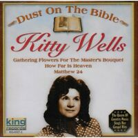 Kitty Wells - Dust on the Bible [New CD]