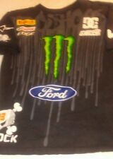 DC Ken Block #43 Monster Energy Pirelli Ford Castrol Graphic T-Shirt Mens Medium