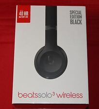 Beats Solo3 Wireless On-Ear Headphones - SPECIAL EDITION - Black BRAND NEW
