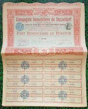 Paris IX ème 43 Boulevard Haussmann - Belle Compagnie Immobilière du 15/02/1905
