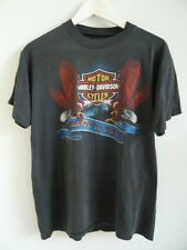 Vintage 3D  Emlem1984  Harley Davidson T Shirt