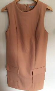 New Tags - KOOKAI Size 38 Or 8-10 Bronze Ashleigh Shift Dress