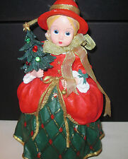Madame Alexander Trim the Tree Doll w/Certificate Edition/Pc # Ei/0498 Nib