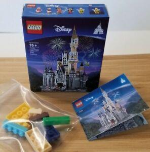 1/6 SCALE Dollhouse Mini Lego Box, Instructions, and 9 tiny blocks-Disney Castle