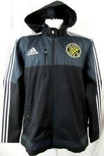 Columbus Crew SC Mens Large Full Zip Hooded Midweight Jacket CBC 8