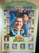 Buttercup Ad Australian Cricket Poster: Border's Ashes Heroes, 1993/94 (2511)