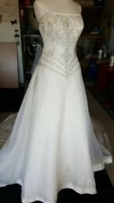 Lace Strapless Wedding Dresses 16 Size (Women's)