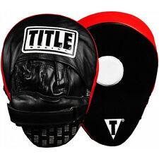 Title Boxing Incredi-Ball Leather Training Punch Mitts 2.0