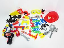Mickey Mouse Tool Set Clubhouse Mousekadoer Tools Hard Hat Glasses Just Play