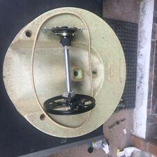 Leslie 825 ROTATING SPEAKER ASSEMBLY: Drum; Axel; Mounts; Wheel. Belt; Bushings