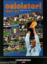 CALCIATORI PANINI 1982/83=RISTAMPA ALBUM=EDITO DA  PANINI-GDS=ITALIA MONDIALE
