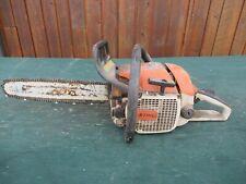 "Vintage Stihl 0248V Super Quickstop Chainsaw Chain Saw 16"" Bar Log Spike Parts"